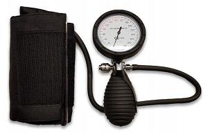 ciśnieniomierz zegarowy HS-201K z mankietem naramiennym